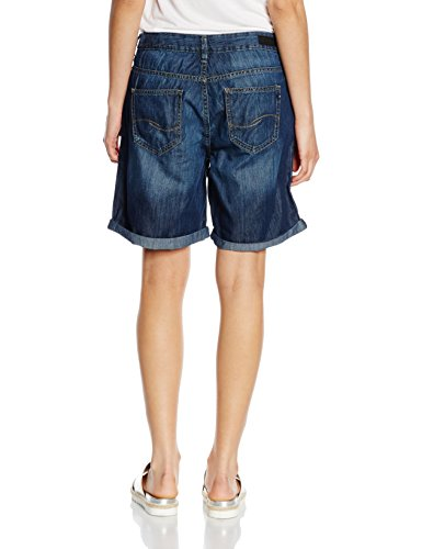 Q/S designed by - s.Oliver Damen Short Blau (blue denim rinse washed 59Z8)