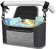 Yoofoss Bolsa Organizadora de Cochecitos para Mamá, Bolsa Carrito Bebe, Universal cochecito de bebé para Todos
