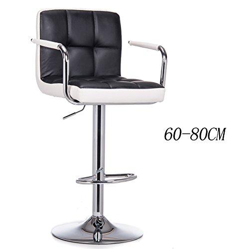 WCUI Bar Stuhl Lifting Stuhl Zurück High Stuhl Esszimmer Stuhl Vorderseite Counter Shop Business Kassierer Stuhl Nail Shop Stuhl Schönheit Stuhl Bar Hocker 60-80cm Wählen Sie ( Farbe : #3 )