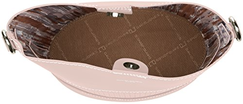 David Jones - 5763-1, Borse a tracolla Donna Rosa (Pink)