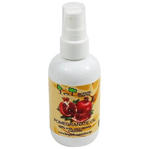 BIOPARK Granatapfelsamenöl - Hat eine entzündungshemmende Wirkung - Hilft bei vorzeitiger Hautalterung - 100 ml
