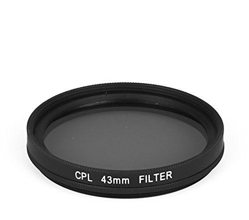 dHD DIGITAL Marken CPL Filter Polfilter 43mm Polarisationsfilter 43 mm