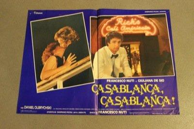 Casablanca, Casablanca! Con Giuliana de Sio.