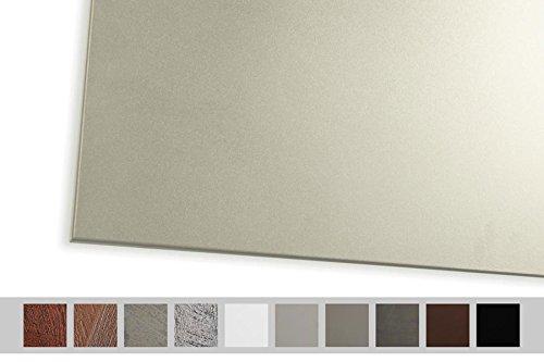 Chauffage à infrarouge warmset de 400W Panneau rayonnant à mural facile Montage pour zones jusqu'à 8m² Panneau infrarouge WHP s Basic Line pour chauffage avec surface uniforme couleur sable
