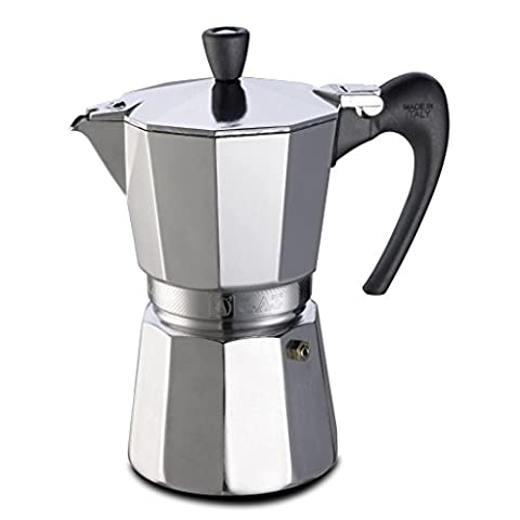GAT Aroma VIP 9 Cup Aluminium Stove Top Italian Espresso Coffee Maker