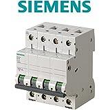 Siemens 5sl6–magnéto-thermique 400V 6kA 4pôles C 20A