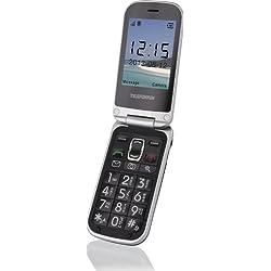 """Telefunken TM200 - Móvil libre (pantalla 2.6"""", Li-ion 800 mAh, micro SD), color negro"""