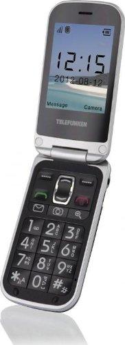 Telefunken TM200 - Móvil libre (pantalla 2.6', Li-ion 800 mAh, micro SD), color negro