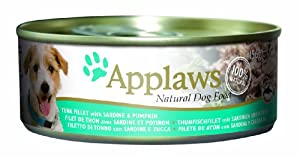 Applaws Dog Tuna with Pumpkin 156 g (Pack of 24)