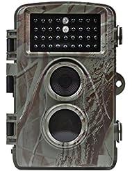 Distianert 12MP 720P Infrarot Wildakamera Low Glow Nachtsicht 65ft Wasserdicht IP56 mit 34pcs 850nm IR LEDs 1 Jahr Garantie