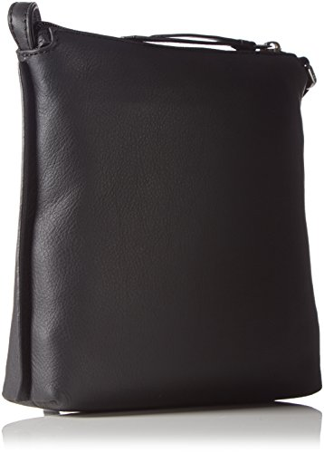 Bree Toulouse 1, Black Smooth, Cross Sh. S, Sacs bandoulière Femme Noir (black Smooth 909)