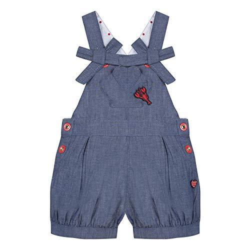Catimini Cn21013, Pantalones Peto Bebé-Niñas, Azul