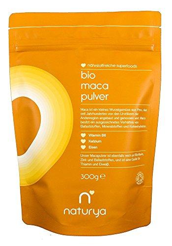 Naturya Bio Maca Pulver, 300 g