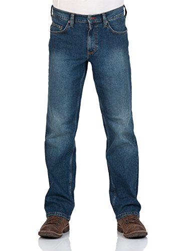 Mustang - Jeans - Jambe droite - Homme Rinse (095)