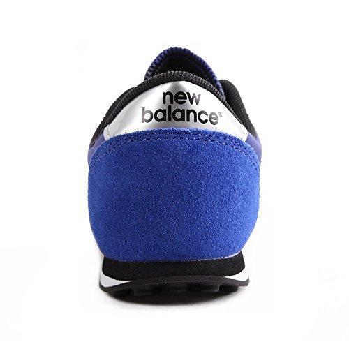 New Balance K 410v1, Baskets Basses Mixte Enfant Bleu
