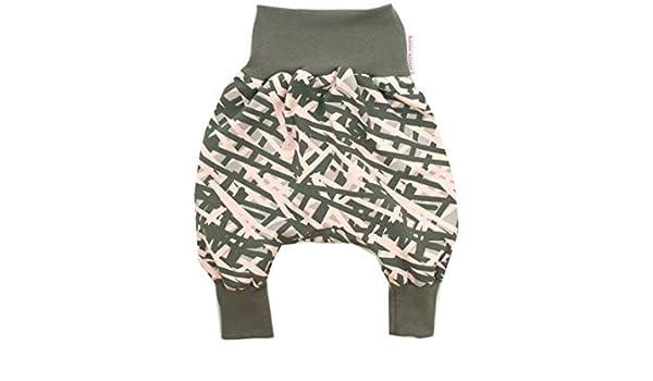 Kleine K/önige Pumphose Baby Sweathose Jungen /· Modell Anker Anchor Grey dunkelgrau meliert /· /Ökotex 100 Zertifiziert /· Gr/ö/ßen 50-164