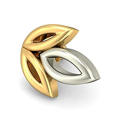BlueStone 22k (916) Yellow Gold Ranya Stud Earrings