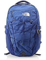 The North Face, Borealis, Zaino, Unisex adulto, Blu (Flag Blue Light Heather/Tnf White), Cintura in vita rimovibile, Taglia Unica