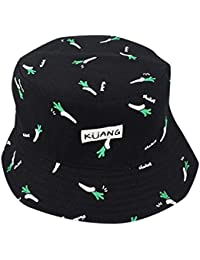 213c1334cf6 Kingko ® Double Side Banana Chips Hats Unisex Funky Passion Bucket Hat  Fishmen Cap Outdoor Hat