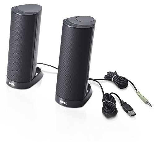 DELL-AX210CR-Speaker-for-PC-Black