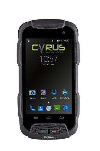 Cyrus CYR10087 Outdoor Smartphone CS23 LTE Dual SIM Stoßsicher, staubgeschützt, wasserfest schwarz