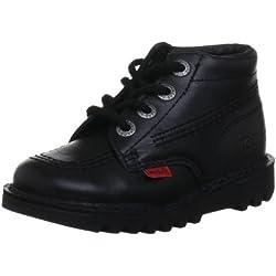 Kickers Core Classic, Chaussures de Running garçon Noir (black) 23 EU