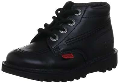 Kickers Unisex - Child Core Classic Trainers Kids Unisex Boots - Black, 5 UK Child