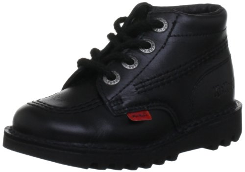Kickers Kick Hi I Core, Unisex-Child Trainers, Black, 10 child UK (28...