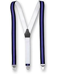 Hochwertige Hosenträger Extra Starker Clip Streifen