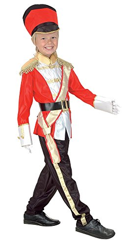 Bristol Novelty CC683 Toy Soldier Kind Kostüm (klein), Alter: -