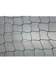 Filet pare-ballons–Filet de–Adaptateur–Vert–Épaisseur du fil 1,2mm Mailles 5cm Dimensions: 3,00m x 25m