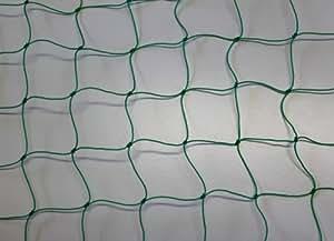 Pieloba Filet de clôture pour parc à volailles Maille 5cm Vert Épaisseur 1,2 mm 1x25 m