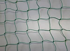 Ballfangnetz - Ballnetz - Netz - grün - Masche 5 cm - Stärke: 1,2 mm - Größe: 3,00 m x 5 m