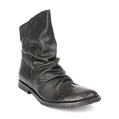 Felmini - Scarpe Donna - Innamorarsi com Clash 9071 - Stivaletti Cowboy & Biker - Genuine Pelle - Nero - 39 EU Size