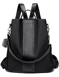LOSMILE Zaino Donna Borse a zainetto Borse a spalla in Nylon Zaino alla moda con tracolla Casuale Daypack Borse a mano Backpack Daypack per Scuola Viaggio lavoro