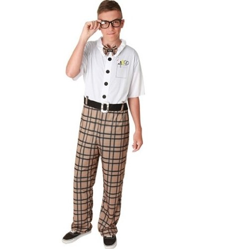 Generique - Nerd-Kostüm für Erwachsene