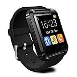 CHEREEKI Smart Watch, Bluetooth Smartwatch, Armband-Telefon Uhr mit Schrittzähler, Touchscreen für Smartphones mit Android System, Samsung, HTC, Sony, LG, Blackberry, Huawei