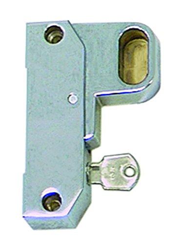 Schubladenverschluss 2087 für Kühlgerät Länge 105mm abschließbar EP rechts Griffadapter Profilrohr