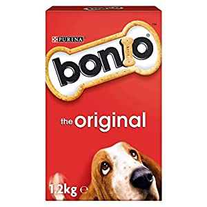 Bonio Adult Dog Biscuits Food Original 1.2kg