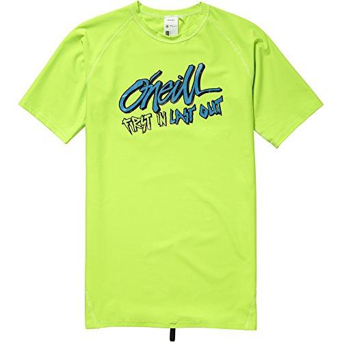 O'Neill Jungen Firstin lastout s/SLV Skin Bademode Mit Uv-Schutz Shirt Fluor Green 8
