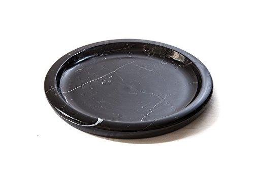 Coque classique, plat Rouge ou Noir Marbre, Pièce unique, noir, 32 x 3 cm