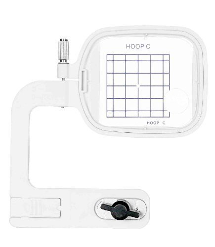 Embroidex FREE ARM HOOP C For Janome Memory Craft MC 300 350 350E 9500 9700 1000 10001 Bernina Deco 330/340 Elna 8200, 8300 & 8600 Embroidery Machine