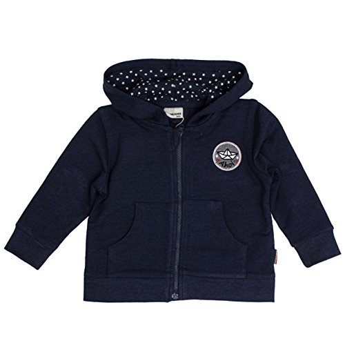 SALT AND PEPPER Baby-Jungen Jacke B Jacket Pirat Kap. Uni, Blau (Ink Blue Melange 481), ()