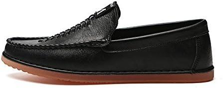 Zapatos Planos de Haba de los Hombres de Verano Zapatos Planos de Color sólido