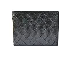Imex Mens Modish Black Chicken Leather Wallet