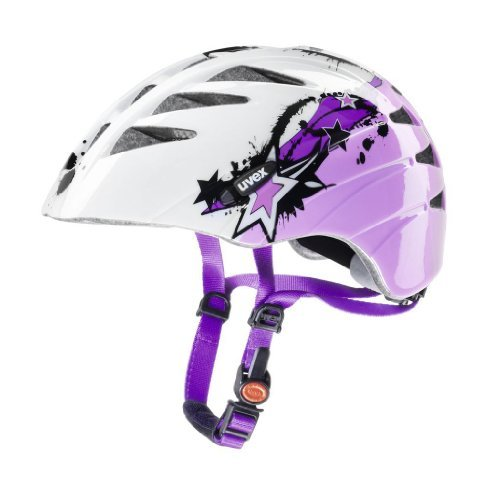 Uvex Kinder Fahrradhelm Junior, Splash Pink, 52-57, 4142560715