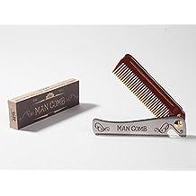 Man Comb. Das ultimative Hilfsmittel für Ihr Haar, Ihren Bart und Ihr Bier.