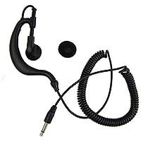Tube Escucha solo auriculares con conector de 3,5 mm para radio Walkie Talkie/Dos vías