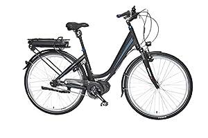 Fischer E-Bike KOMFORT ECU 1760 mit gefederter Sattelstütze und Memofoam-Sattel, Mittelmotor 48 V/557 Wh Powered by BAFANG
