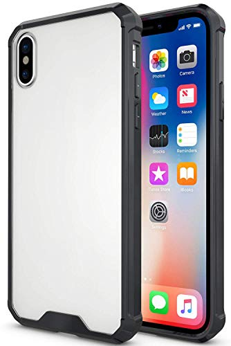 """PEYOU Clear Case Compatible for 5.8"""" iPhone X 2017/ iPhone Xs, Premium Slim Case with [Raised Bezels] [Drop-Protection] TPU Bumper and [Anti-Scratch] Hard PC Back"""